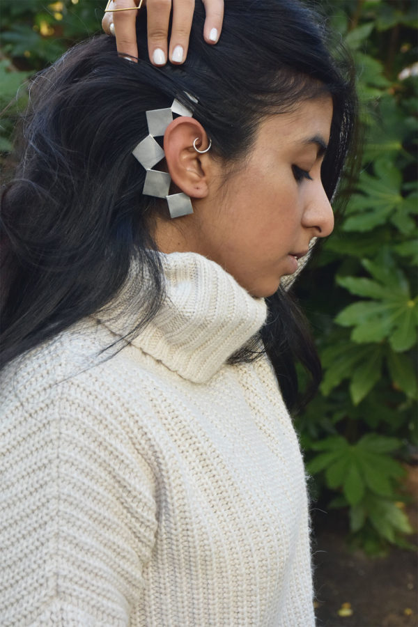 Fashion blogger Shloka Narang showcases up and coming new jewellery brand Misho Designs