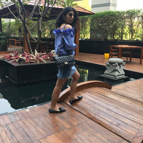 Fashion blogger Shloka Narang of The Silk Sneaker showcases her favourite Mumbai Outfits and street style!1