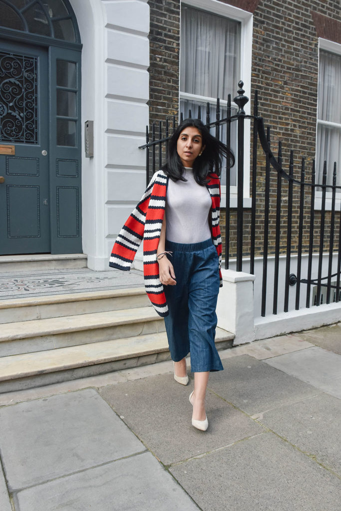 Fashion Blogger Shloka Narang of The Silk Sneaker showcases how to clash colours fashionably this spring featuring pieces from Hush UK S/S 2017