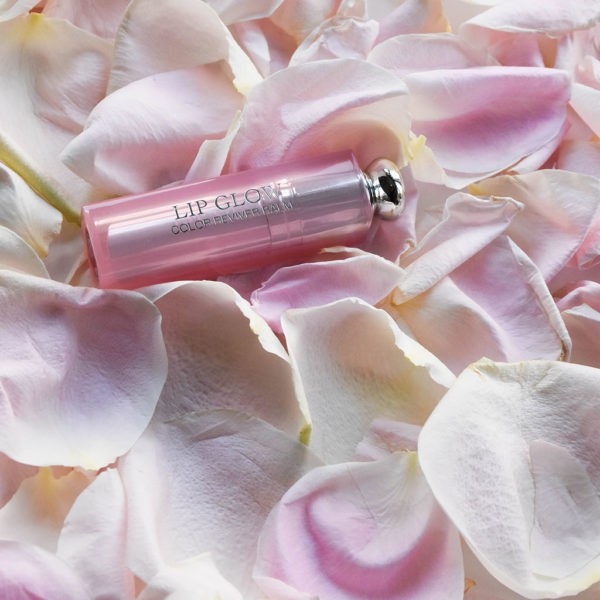 Fashion and beauty blogger Shloka Narang showcases the best lip balm for the summer for soft lips featuring Dior Make Up