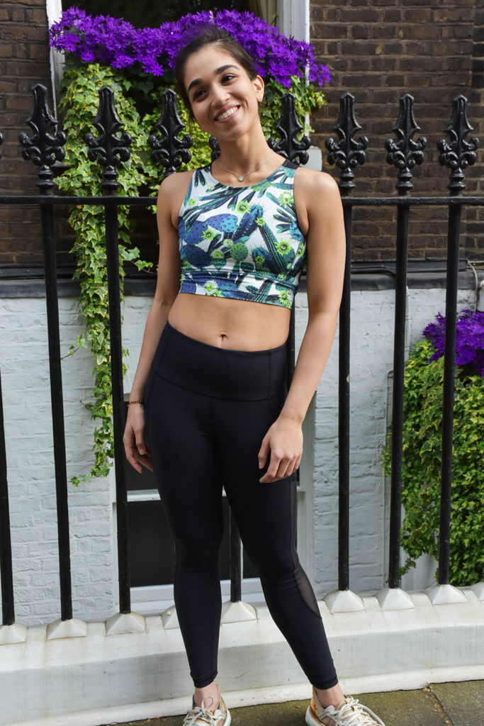Fashion blogger Shloka Narang shares how to look good at the gym with her favourite gym and workout outfits featuring Aanya from Psycle London