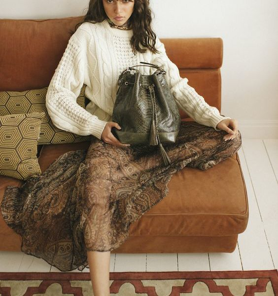 Fashion blogger Shloka Narang of The Silk Sneaker conducts a fashion interview with designer Michelle Helmer