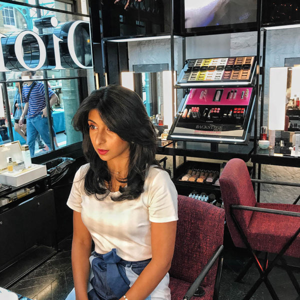 Fashion blogger Shloka Narang shares her favourite beauty tips on The Silk Sneaker from the Covent Garden Beautython