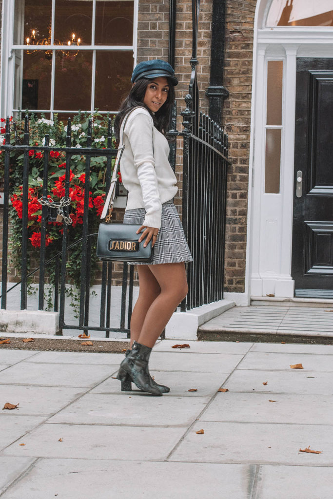 Fashion blogger Shloka Narang of The Silk Sneaker creates the perfect fall outfit idea for what to wear when you have nothing to wear