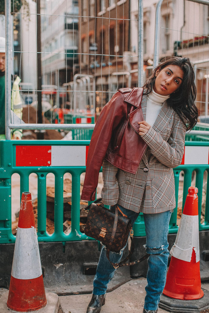 fashion blogger Shloka Narang of The Silk Sneaker showcases how to start the new year in style with her 2018 style resolutions featuring amazon fashion, joe's jeans and louis vuitton