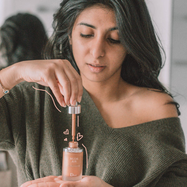 Fashion and beauty blogger Shloka Narang of The Silk Sneaker shares her favourite new makeup and beauty products of January 2018 featuring Dior makeup, Jo Malone and Nars