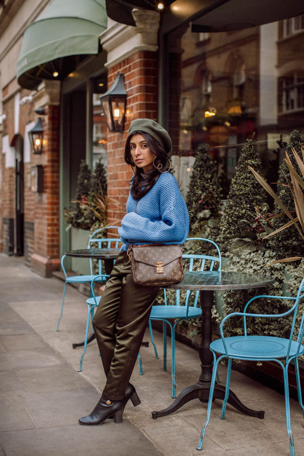 Fashion blogger Shloka Narang of The Silk Sneaker shares her favourite street style colour combination to wear now featuring & Other Stories, Topshop and Chloe