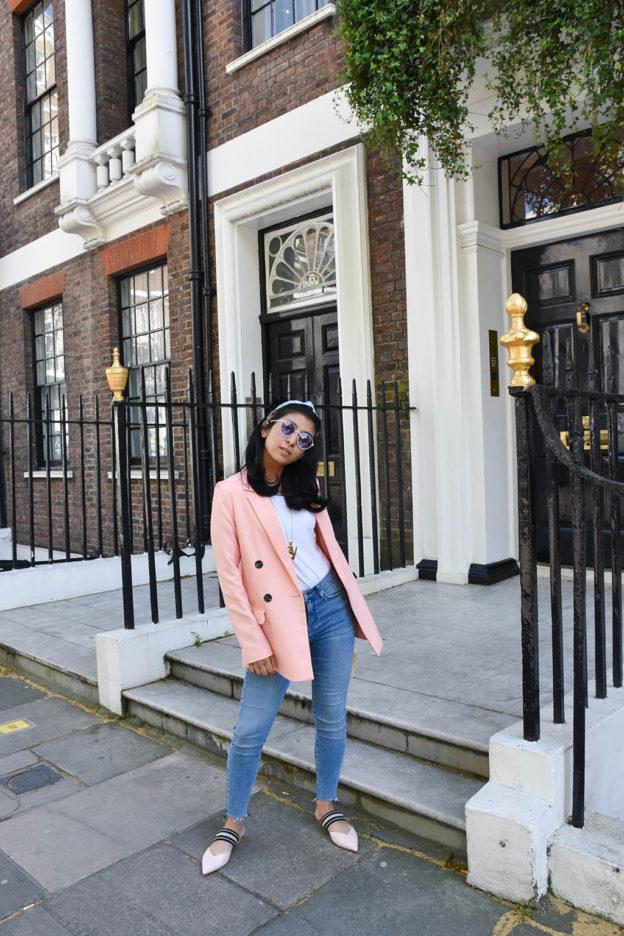 London fashion blogger Shloka Narang of The Silk Sneaker shares the five  spring essentials you need c81bbb556