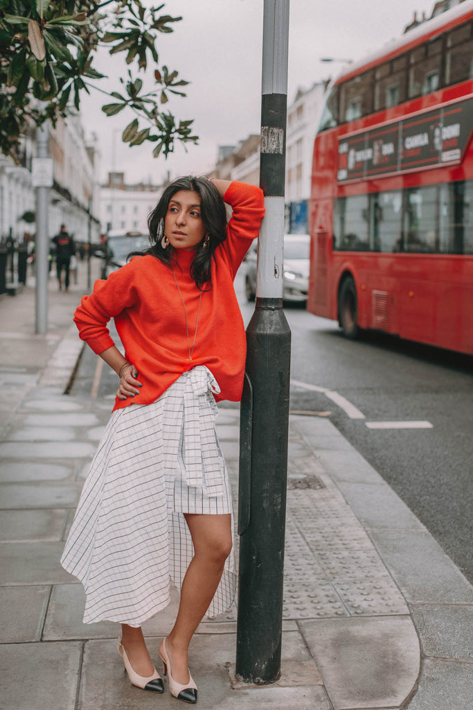 a5156445b Fashion blogger Shloka Narang of The Silk Sneaker shares how to create the perfect  spring outfit