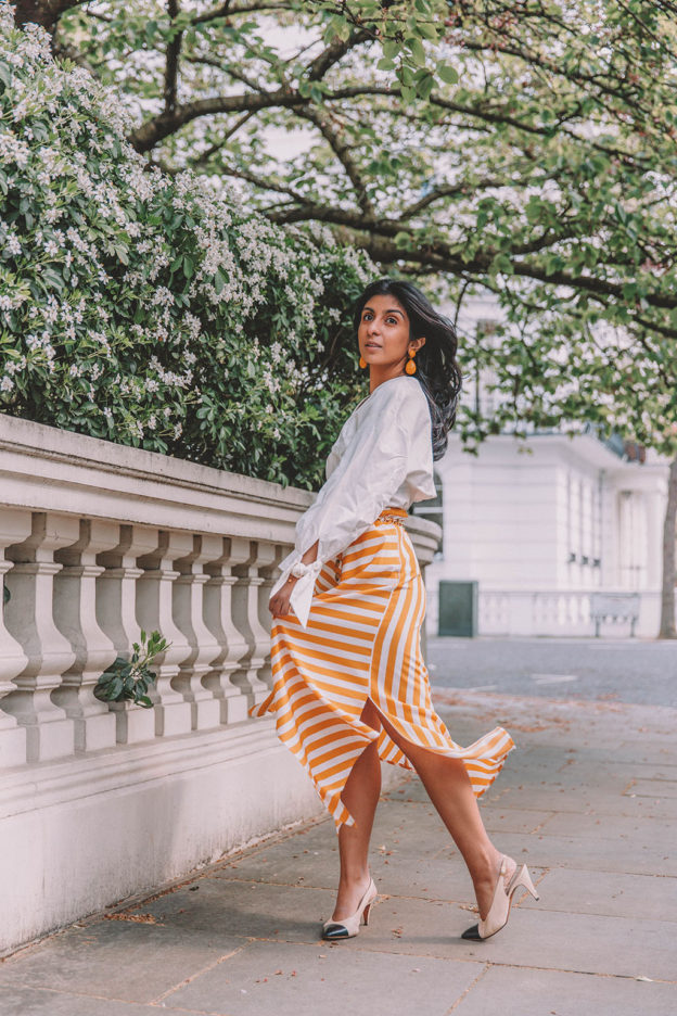 How To Style The Two Most Popular Pieces on The High Street for A Cute  Summer Outfit… Fashion blogger Shloka Narang of The Silk Sneaker shares ... 994595fbf