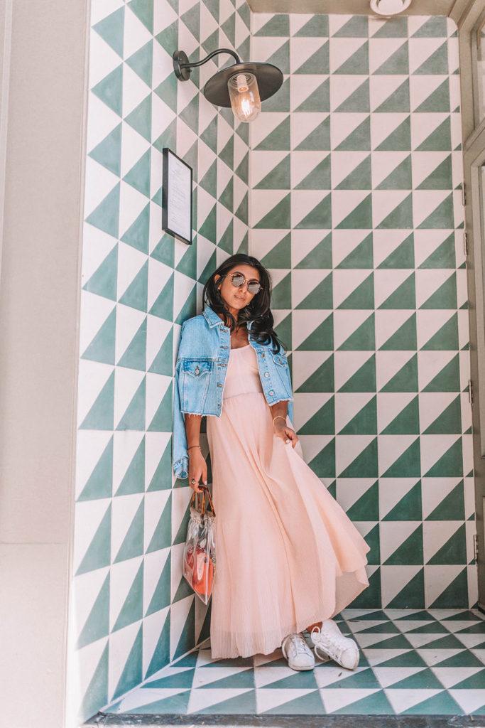 88d5a036e39e Fashion blogger Shloka Narang of The Silk Sneaker shares how to dress your  favourite summer dress