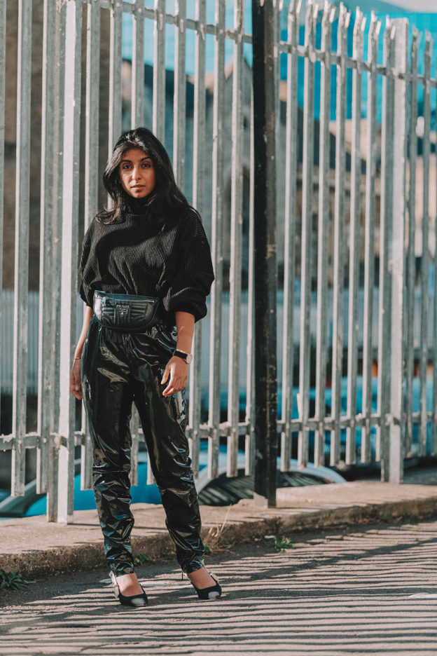 How To Style An All Black Outfit Like A Fashion Insider. Luxury fashion  blogger Shloka Narang of The Silk Sneaker shares her experience with ... 47b084f78