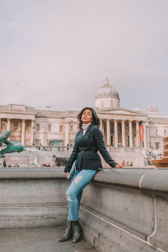 062ff3b2c7d0e1 Petite fashion blogger Shloka Narang of The Silk Sneaker shares her petite  girl styling tips for