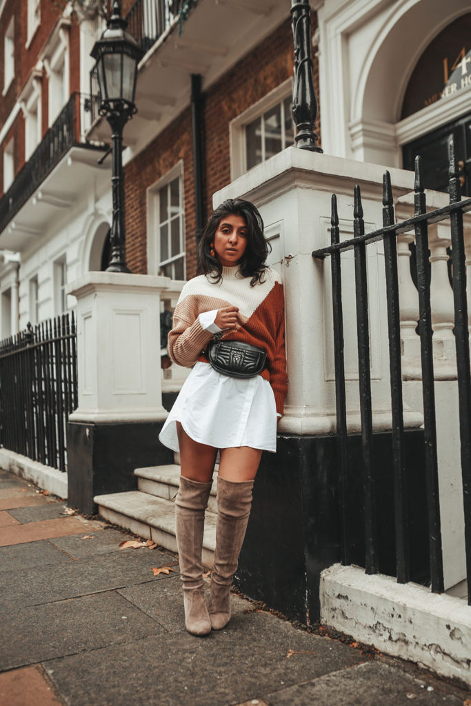 3f350c25e76 Luxury fashion blogger Shloka Narang of The Silk Sneaker shares her  favourite trending sweater styles for