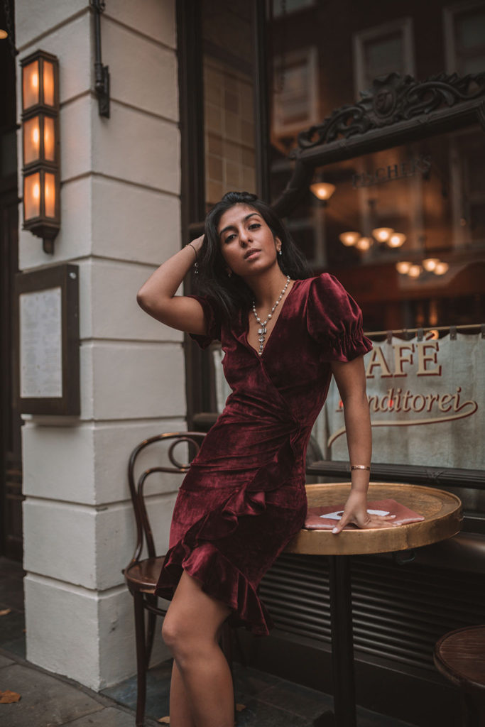 ffad95798816 Luxury fashion blogger Shloka Narang of The Silk Sneaker shares her  favourite party dresses for the