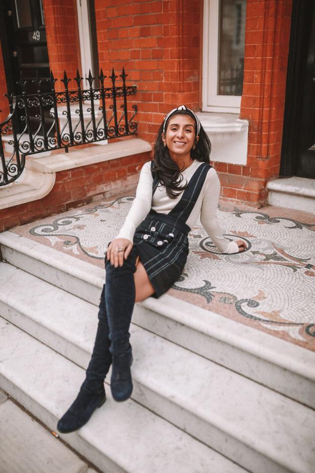 Luxury fashion blogger Shloka Narang shares how to wear a headband as well  as a selection 069803960