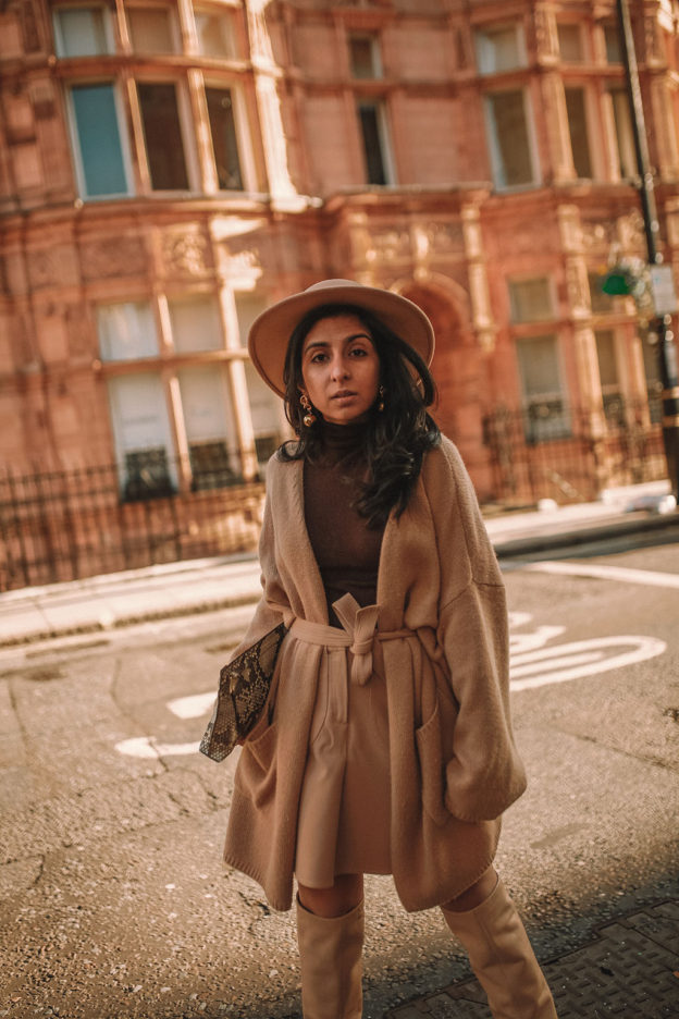 How To Wear A Beige Outfit and Not Look Boring. Luxury fashion blogger  Shloka Narang of The Silk Sneaker shares her beige aesthetic with ... 99a57e8ec