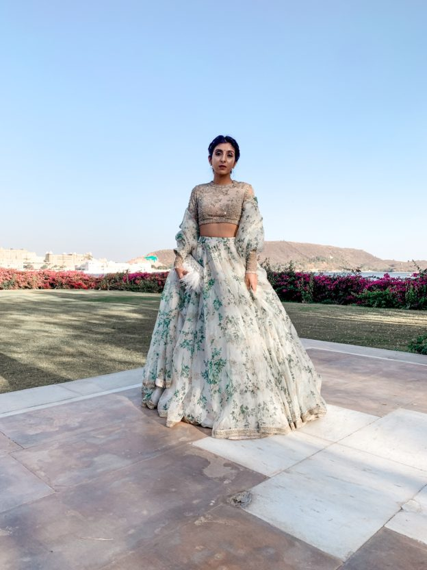 0bdbe1e5ab Luxury fashion beauty blogger Shloka Narang shares her make up products for  a destination indian wedding