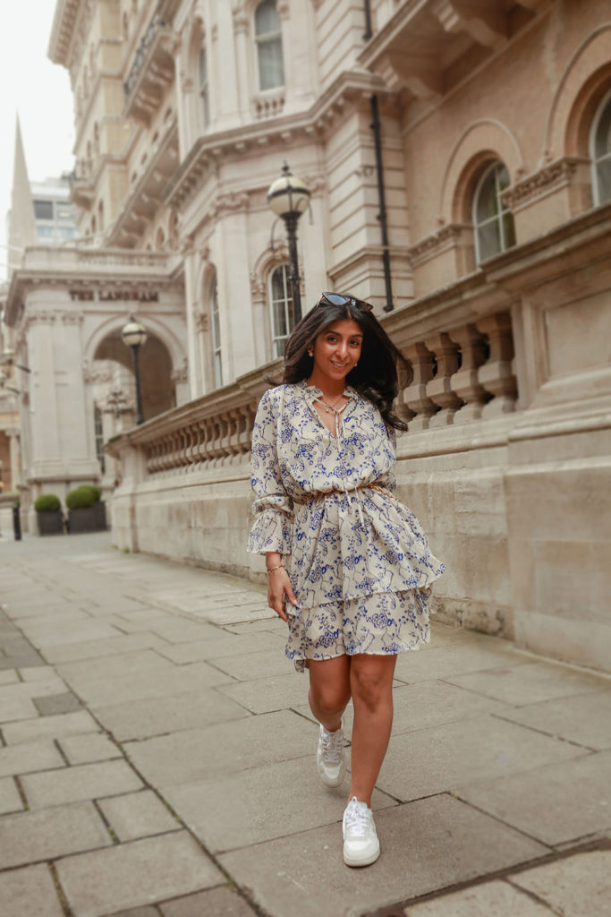 How To Style Your Summer Dress With Sneakers , The Silk Sneaker