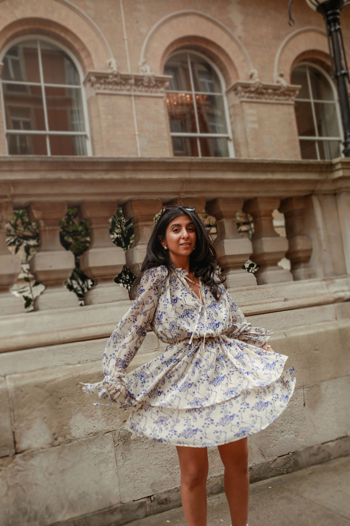 a0e96e0a0 Luxury fashion blogger Shloka Narang of The Silk Sneaker shares how to pair  a midi summer
