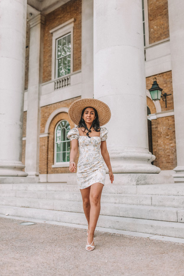 e597c7c1c How To Style The Most Popular High Street Floral Dress This Summer For A  Luxe Look